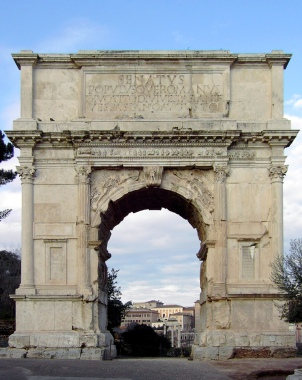 Arch of Titus, Forum, Rome. Google Images