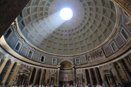 Pantheon, Rome, interior. Google Images