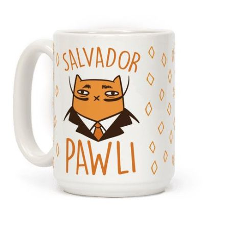 Salvador Pawli $15.99 - http://www.lookhuman.com/design/297351-salvador-pawli?utm_source=pinterest.com&utm_medium=referral&utm_campaign=pint_lh_org_297351-salvador-pawli